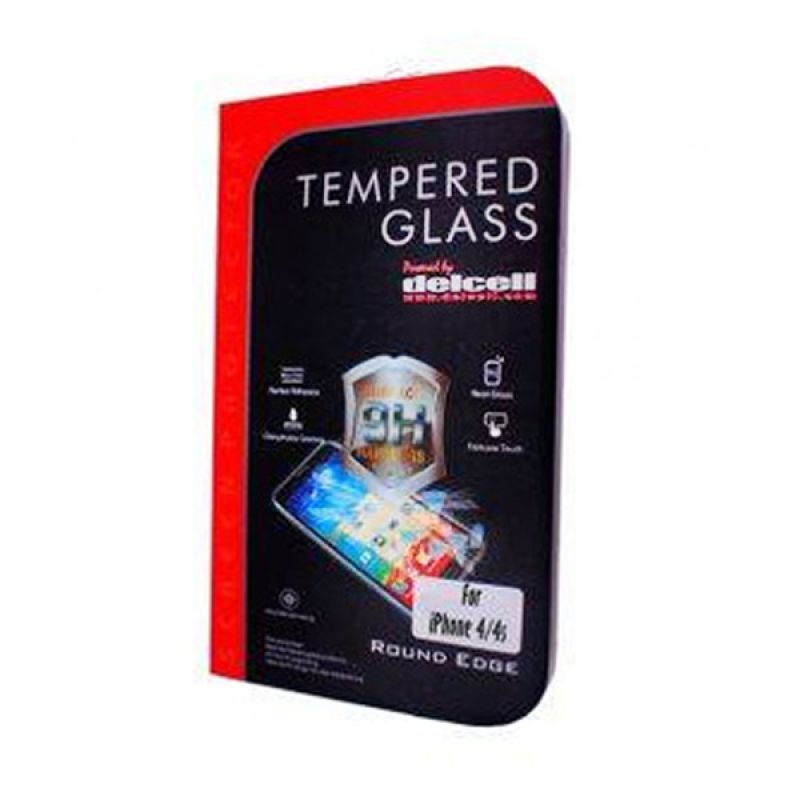 Delcell iPhone 4/4s Tempered Glass Screen Protector