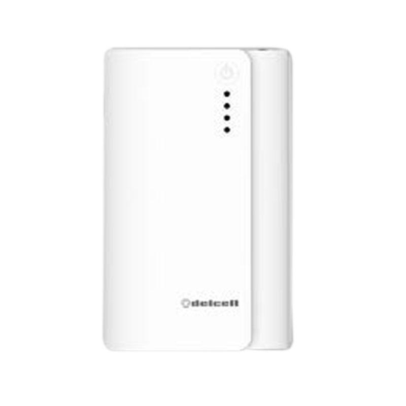 Delcell Nitro Real Putih Powerbank [6000 mAh]