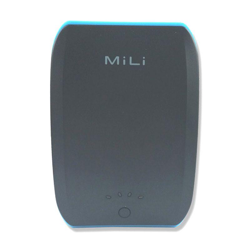 Mili Power Ocean II 10400 mAh Hitam Biru