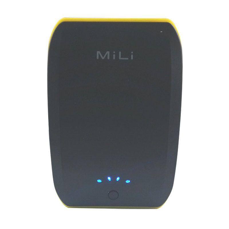 Mili Power Ocean II 10400 mAh Hitam Kuning