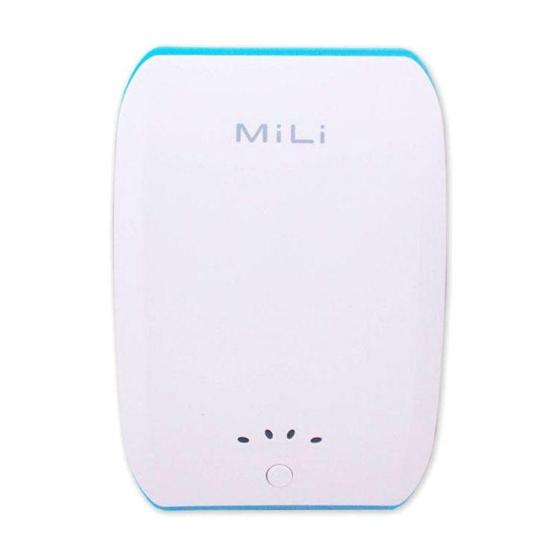 Mili Power Ocean II 10400 mAh Putih Biru
