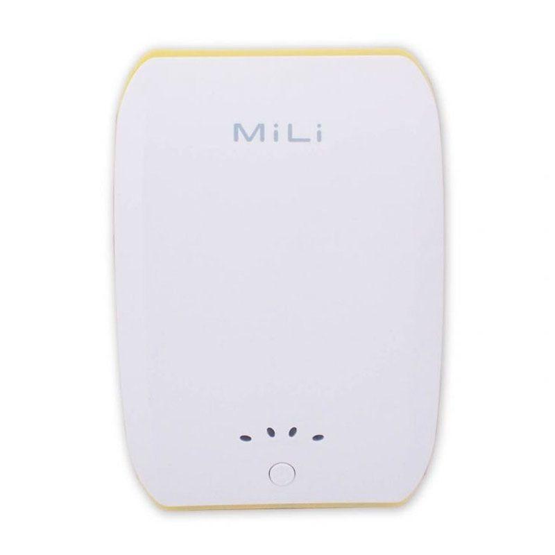 Mili Power Ocean II 10400 mAh Putih Kuning