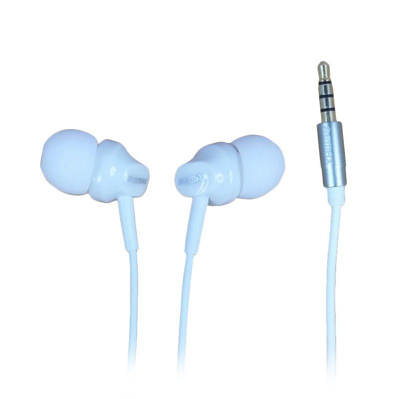 Delcell Remax In-Ear Putih Earphone