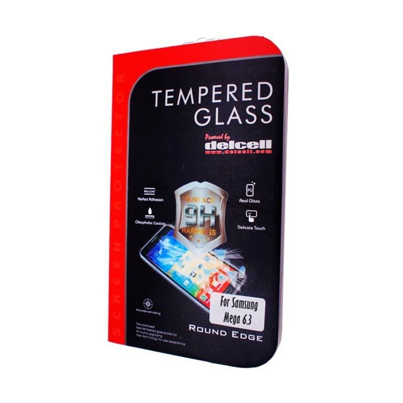 Delcell Samsung Galaxy Mega 6.3 Tempered Glass Screen Protector