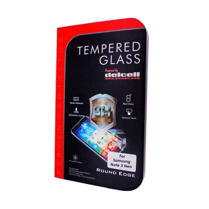 Delcell Samsung Galaxy Note 3 Neo Tempered Glass Screen Protector