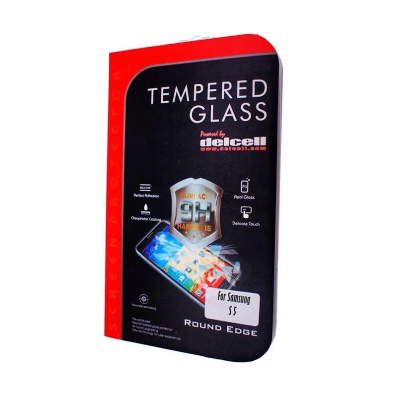 Delcell Samsung Galaxy S5 Tempered Glass Screen Protector