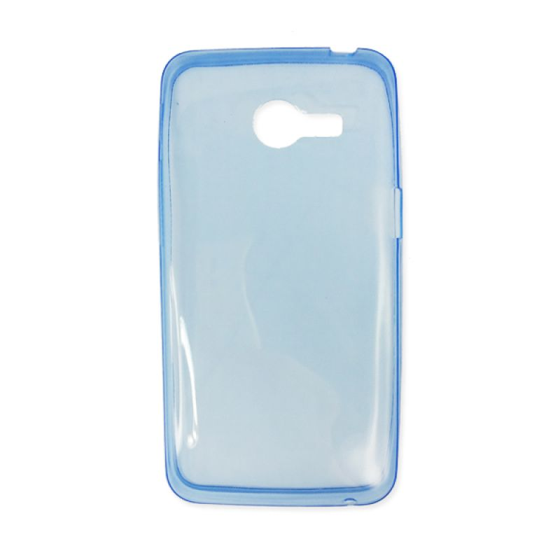 Delcell Silicon Ultra Thin Zenfone 4 Biru Casing
