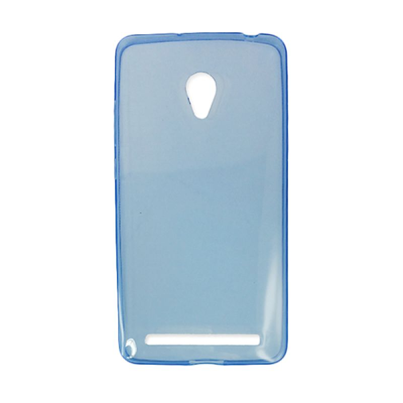 Delcell Silicon Ultra Thin Zenfone 6 Biru Casing