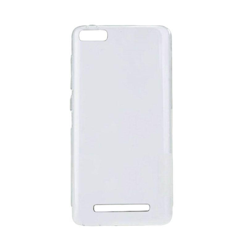 Delcell Slim Putih Transparant Casing for Xiaomi Mi 4i