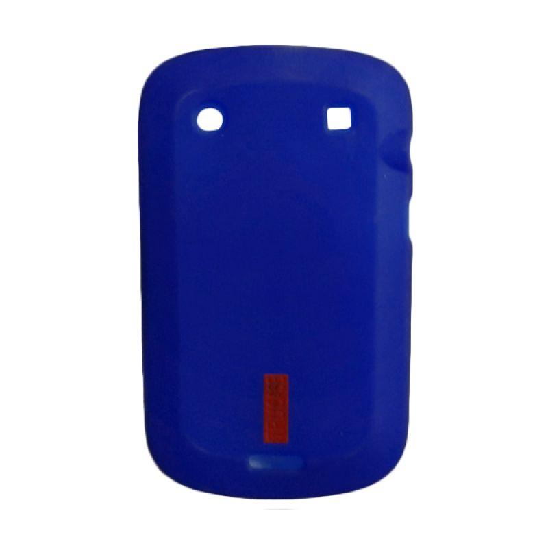 Delcell Soft Case Jelly for BlackBerry 9930/9900 Biru