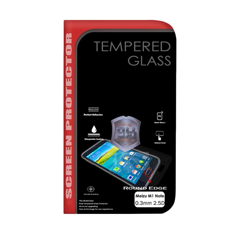 Delcell Tempered Glass Screen Protector for Meizu M1 Note