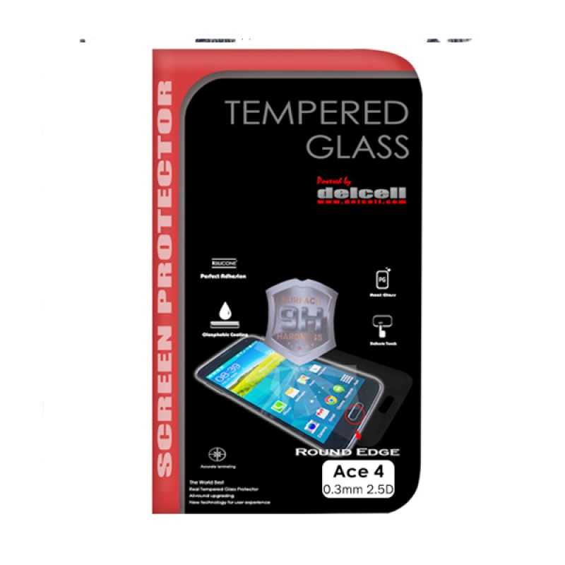 Delcell Tempered Glass Screen Protector for Samsung Galaxy Ace 4