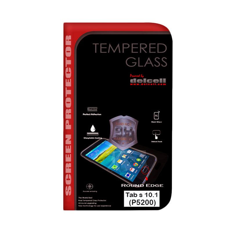 Delcell Tempered Glass Screen Protector for Samsung Tab S 10.1