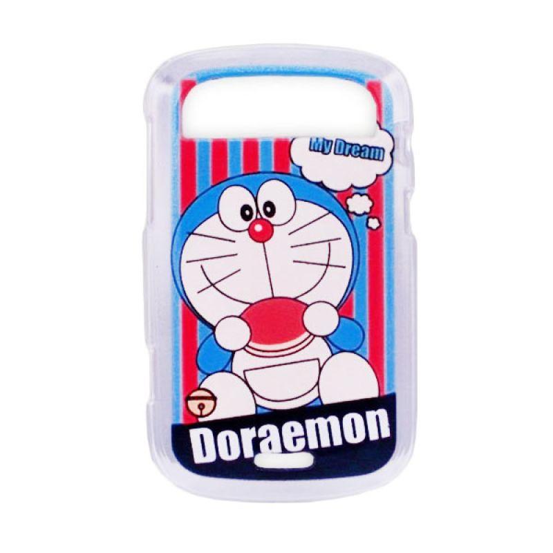 Delcell TPU Case for Blackberry 9900 Gambar Doraemon