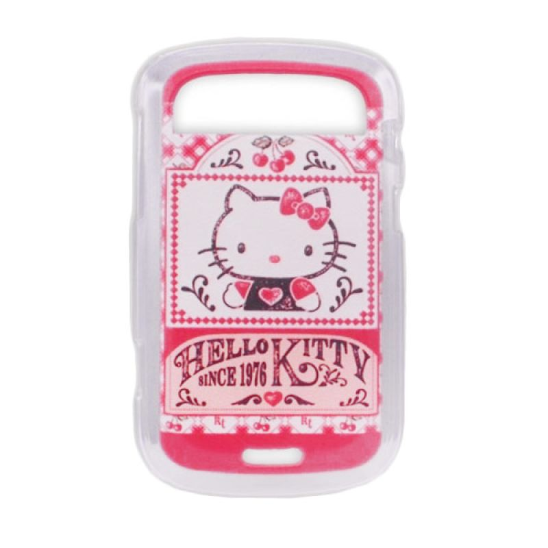 Delcell TPU Case for Blackberry 9900 Hello Kitty 001