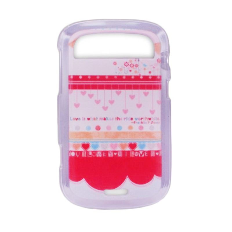 Delcell TPU Case for Blackberry 9900 Motif Hati