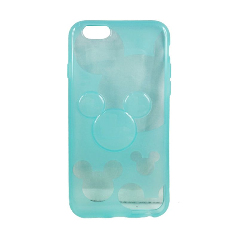 delcell TPU Mickey Character Hijau Tosca Casing for iPhone 6