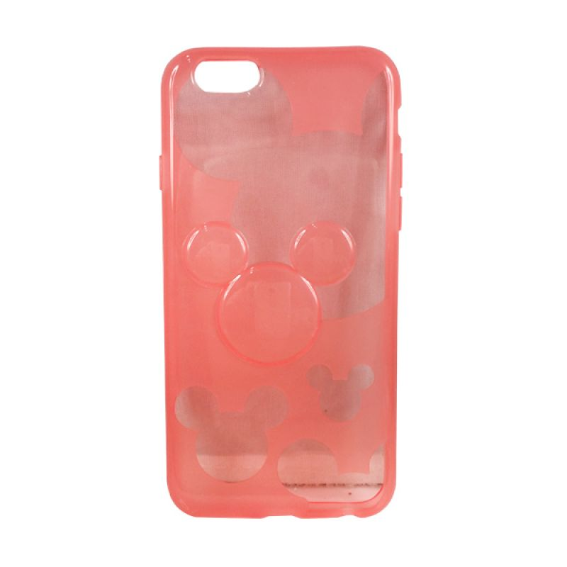 delcell TPU Mickey Character Merah Casing for iPhone 6