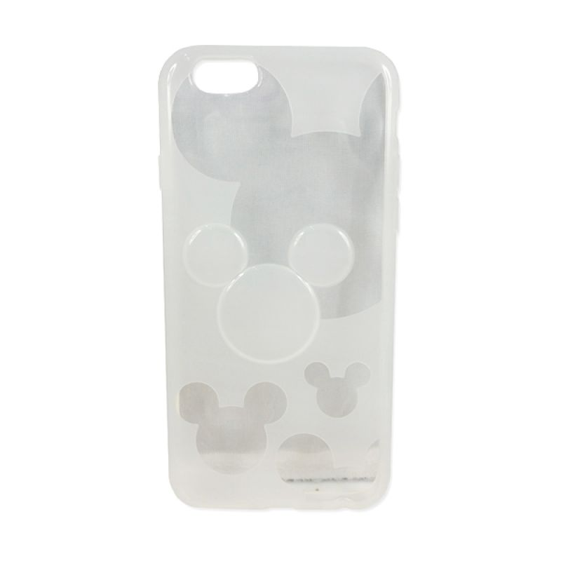 delcell TPU Mickey Character Putih Casing for iPhone 6