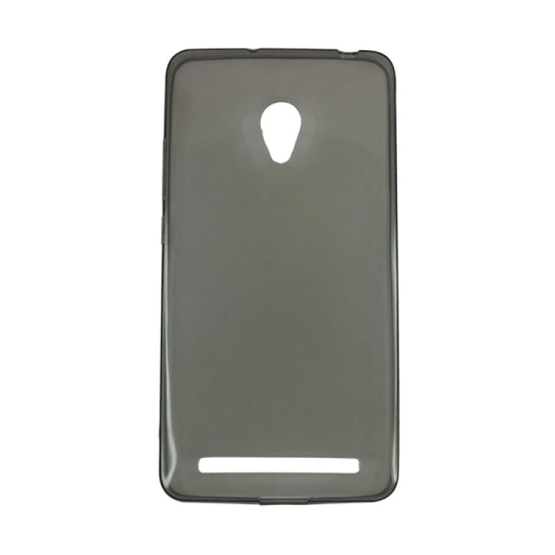 Delcell Slim Case Ultra Thin Hitam Casing for Zenfone 5