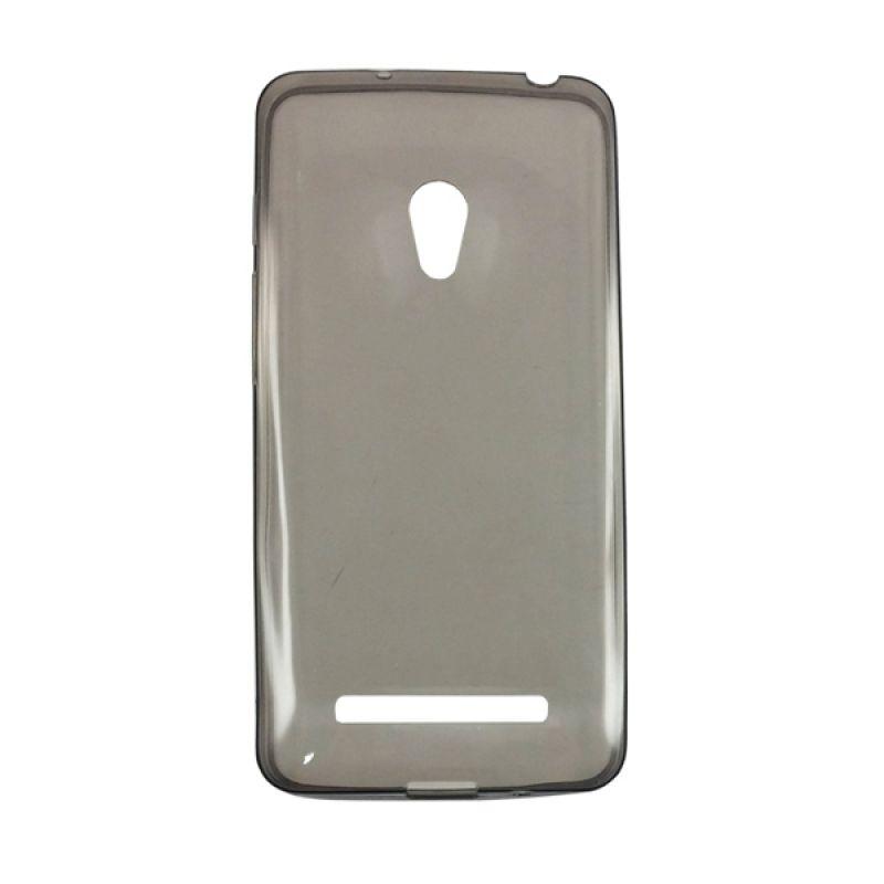 Delcell Slim Case Ultra Thin Hitam Casing for Zenfone 6