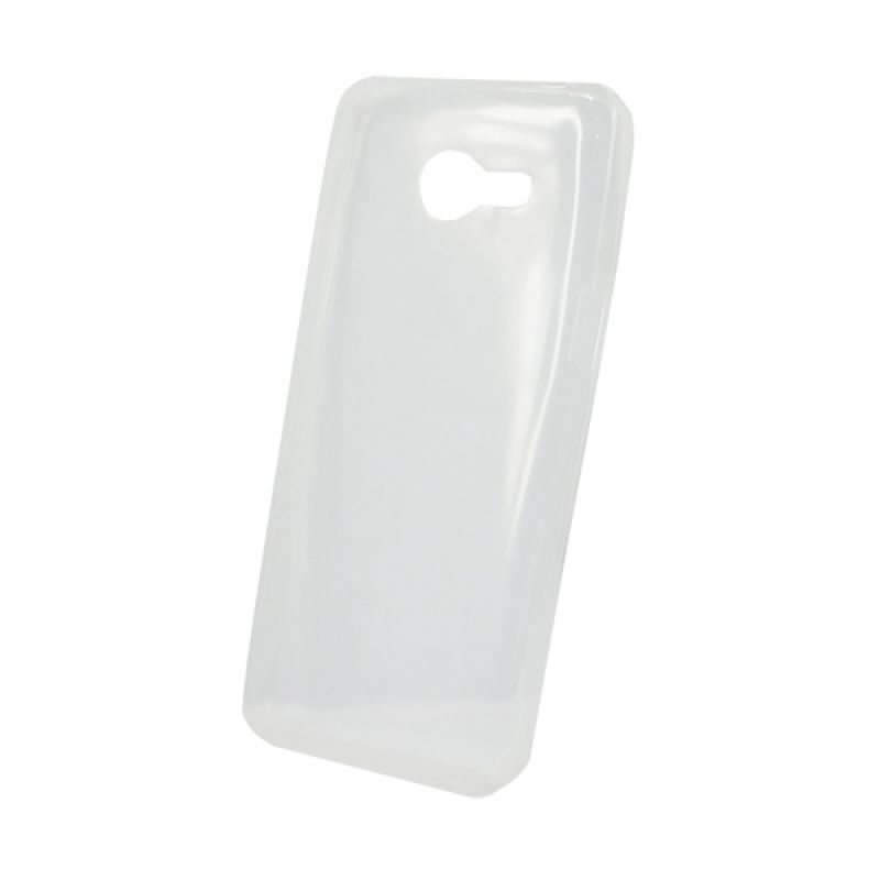 Delcell Slim Case Ultra Thin Putih Casing for Zenfone 4