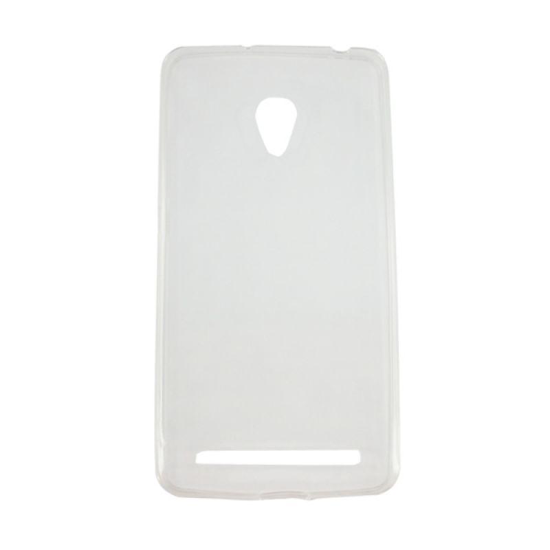 delcell TPU Slim Case Ultra Thin Putih Casing for Zenfone 5