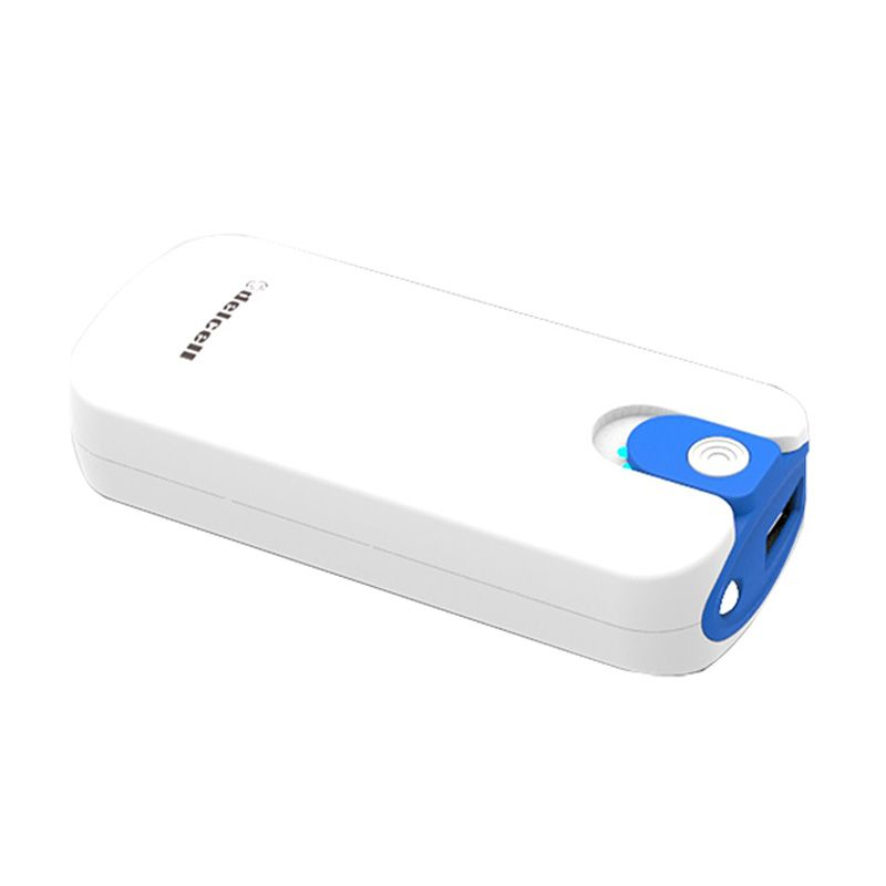 Delcell TWO White Blue Powerbank [4000 mAh]