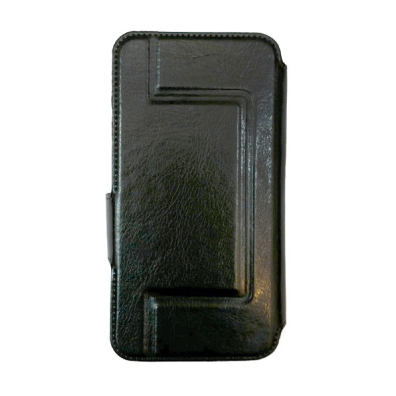 Delcell Universal Flip Case 5.5 inch Kulit Casing