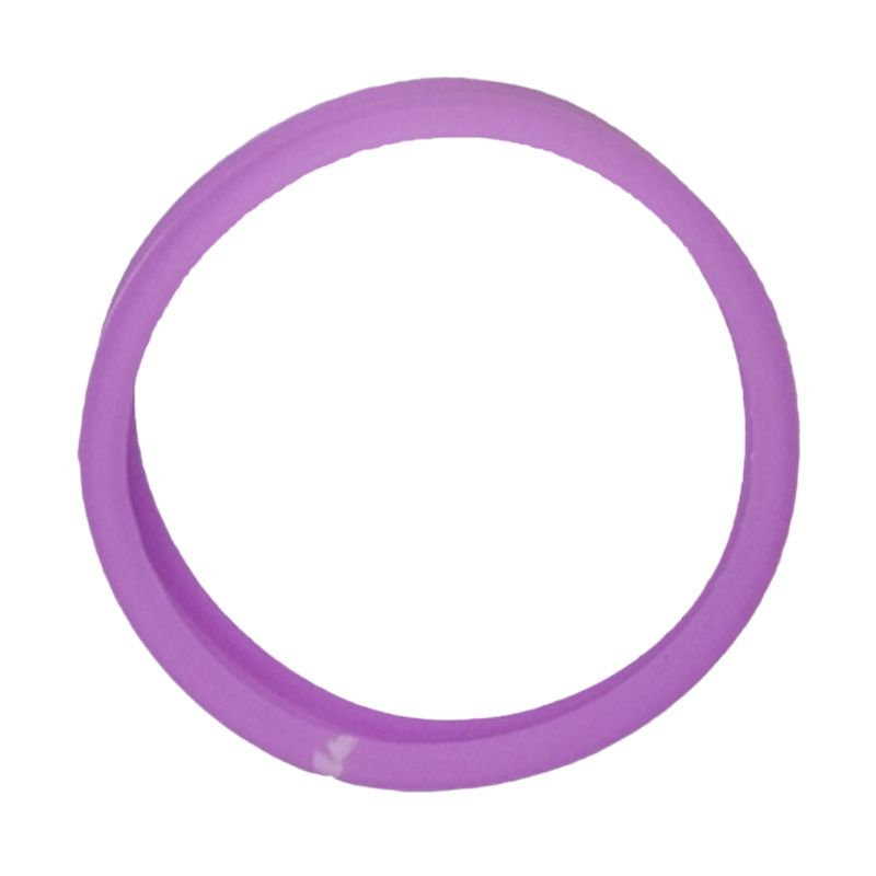 Delcell Universal Rubber Ring Purple Bumper for Smartphone