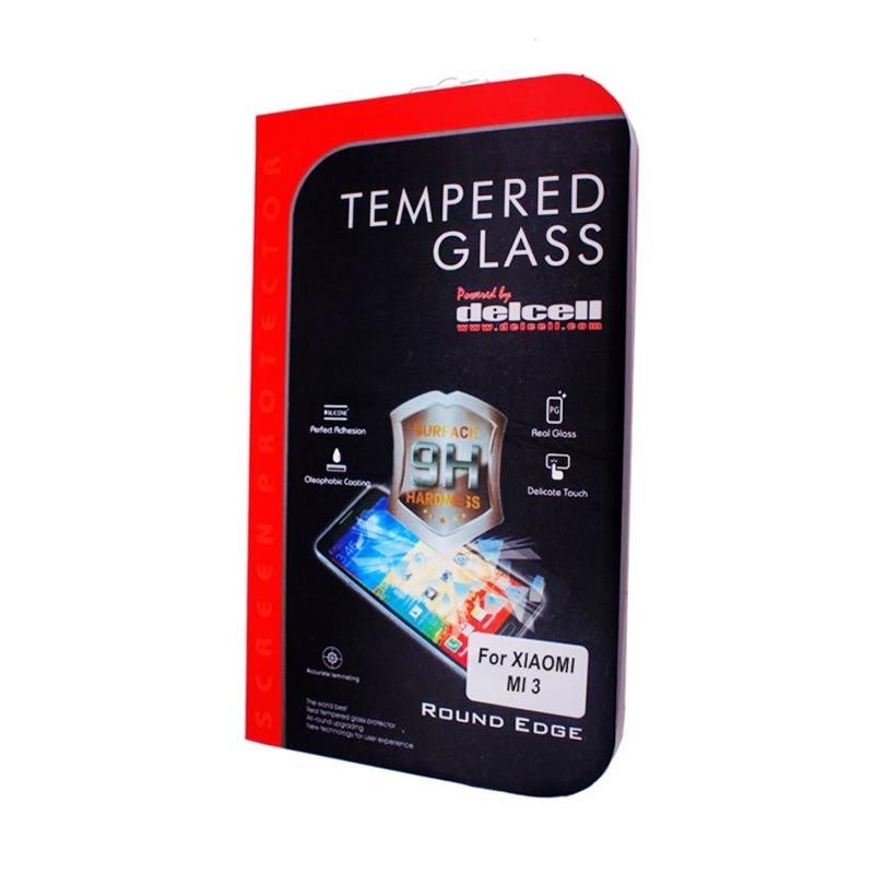 Delcell Xiaomi MI 3 Tempered Glass Screen Protector
