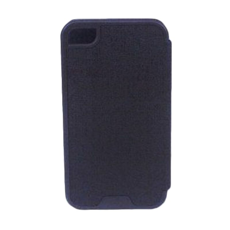 Jzzs Benfeer Flip Cover for iPhone 4/4s - Hitam