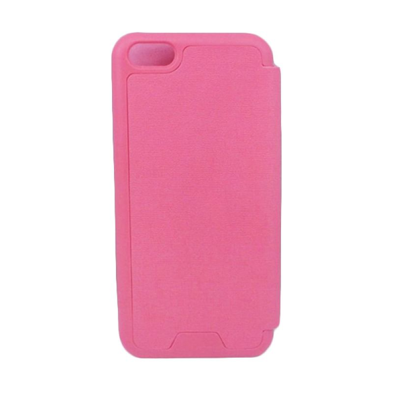 Jzzs Benfeer Flip Cover for iPhone 5C - Pink