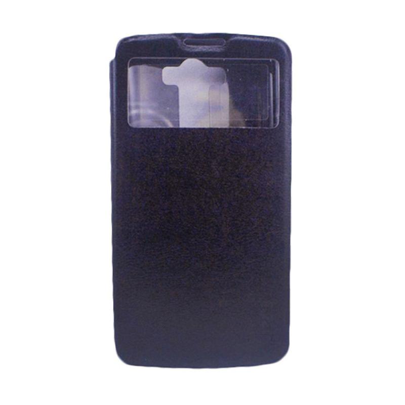 Jzzs Benfeer Flip Cover for LG G3 - Hitam