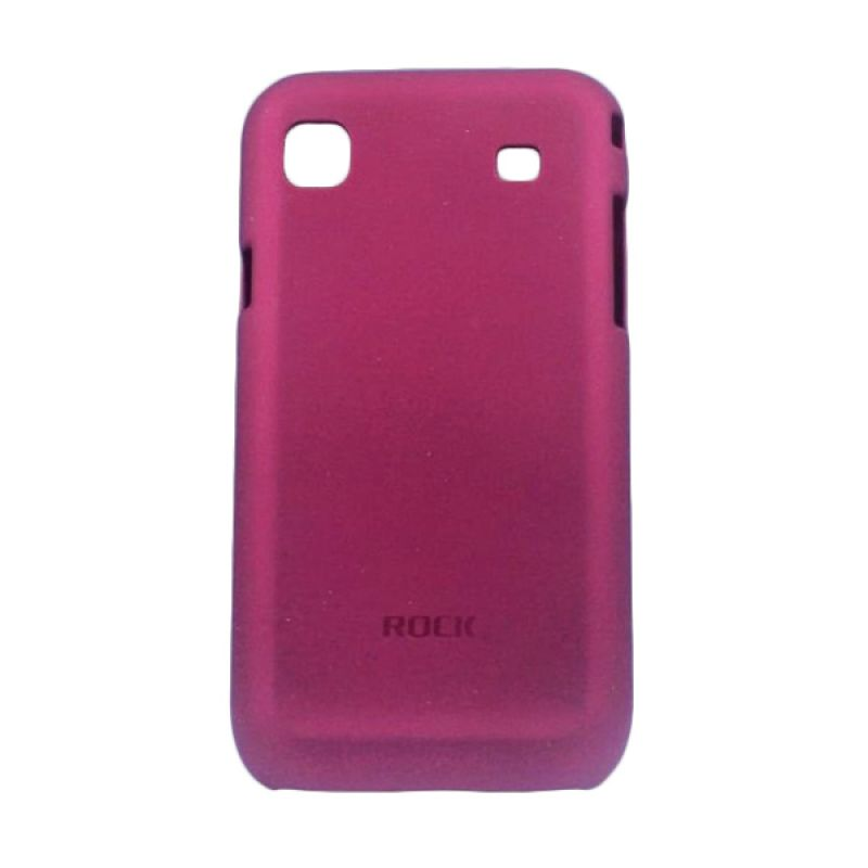 Rock Naked Shell Back Cover for Samsung Galaxy S i9000/i9001 - Merah Maroon