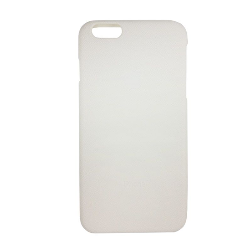 Delcell Putih Hard Case Casing for iPhone 6