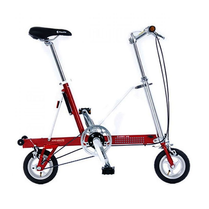 Delta Cycle Carry Me DS Red Sepeda Lipat