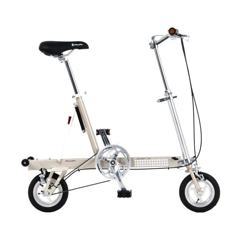 Delta Cycle Carry Me DS Silver Sepeda Lipat