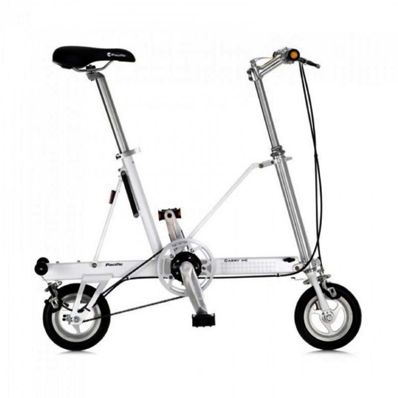 Delta Cycle Carry Me DS White Sepeda Lipat