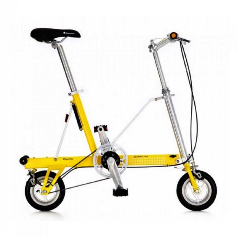 Delta Cycle Carry Me DS Yellow Sepeda Lipat
