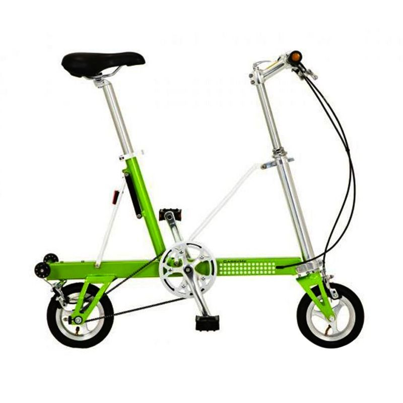 Delta Cycle Carry Me SD Green Sepeda Lipat