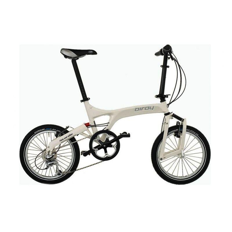 Delta Cycles Birdy Capreo 9 Speed White Sepeda Lipat
