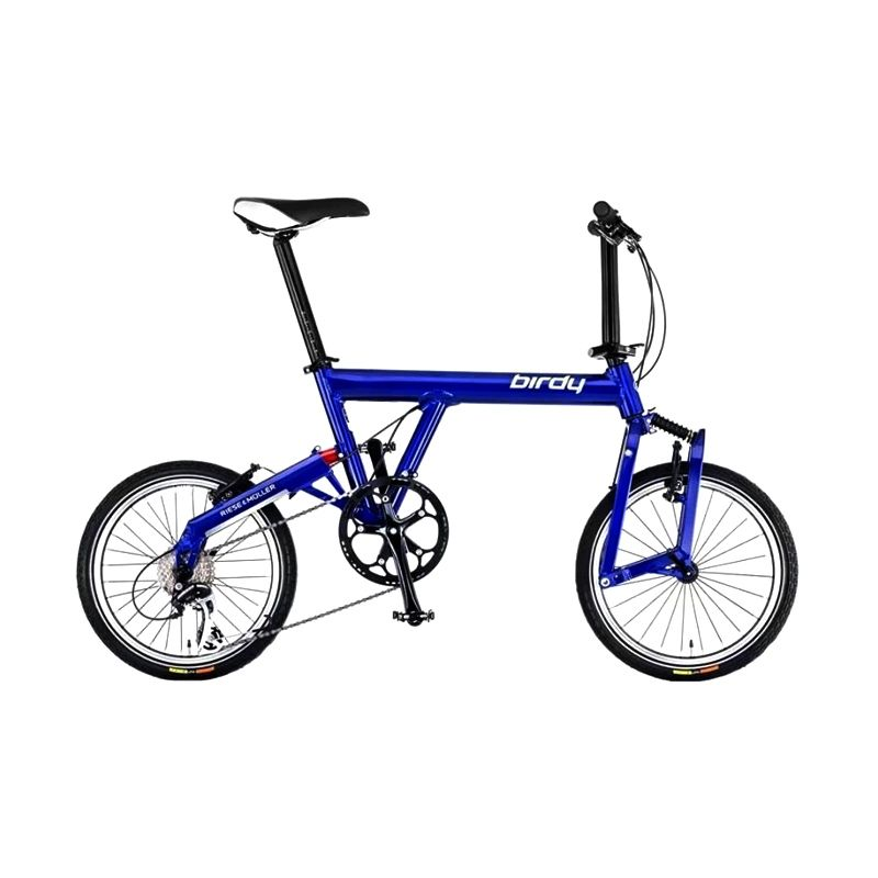 Delta Cycles Birdy Classic Biru Sepeda Lipat