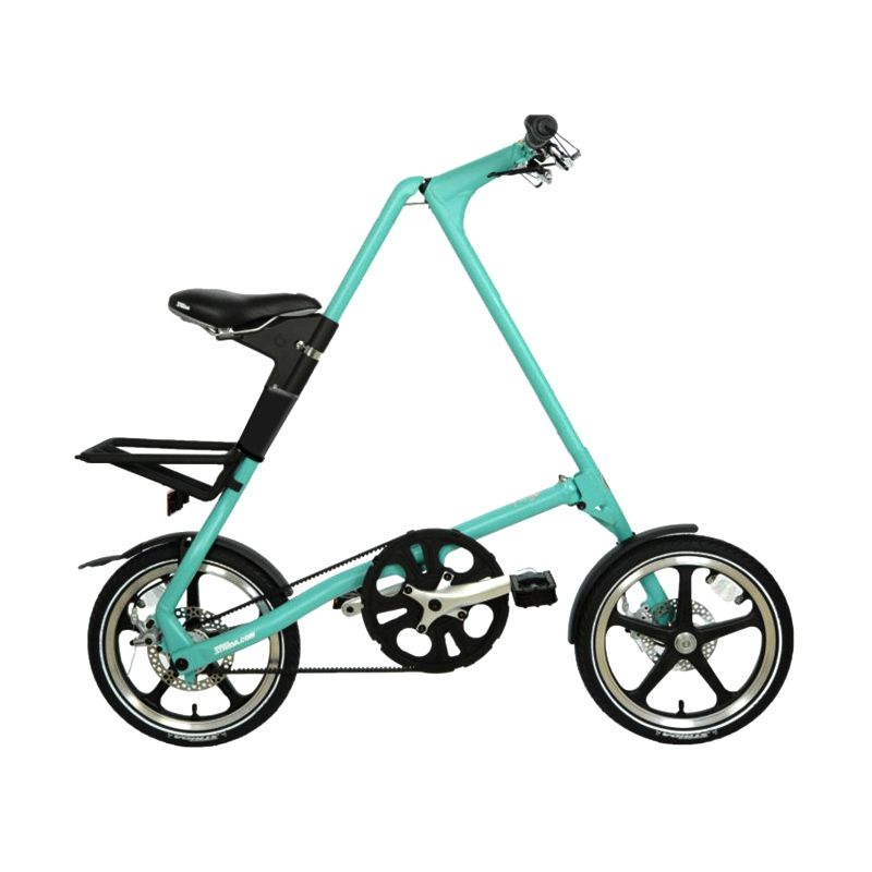 Delta Cycles Strida LT Turquoise Sepeda [Single Speed]