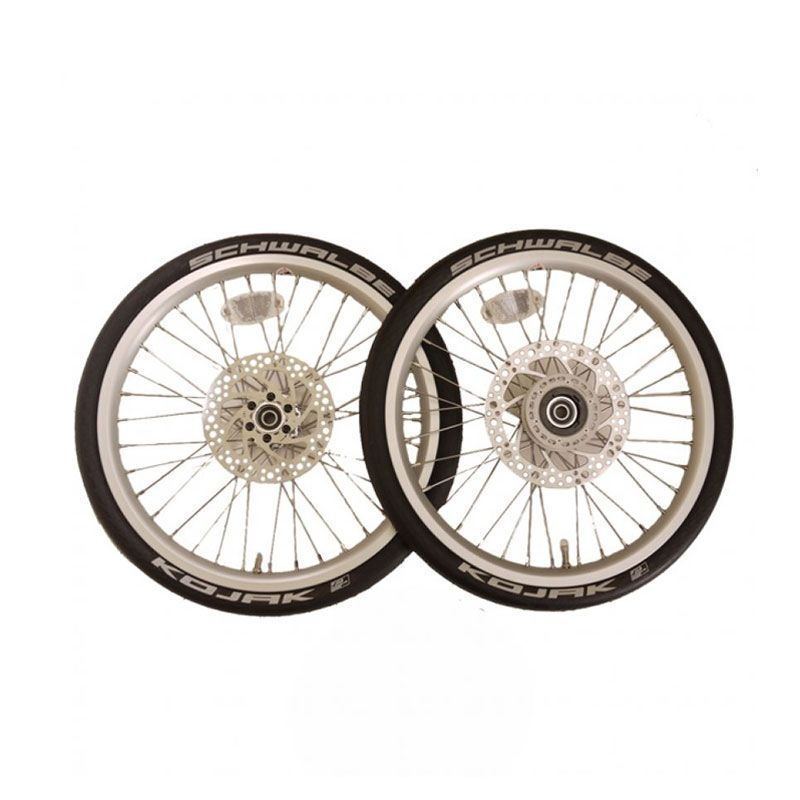 Deltacycles Strida 18 Silver Alloy Wheelset