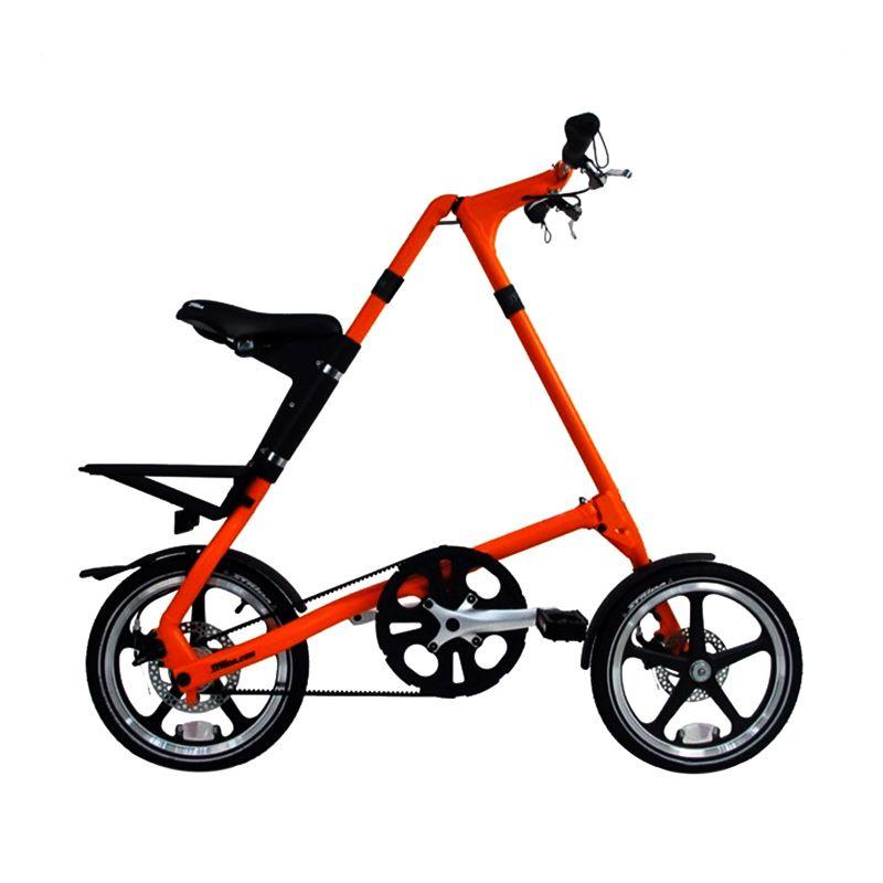 Delta Cycle Strida LT Single Speed Sunkist Sepeda Lipat