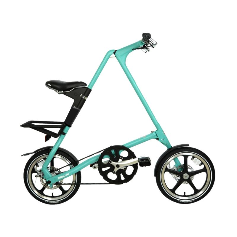 Delta Cycle Strida LT Single Speed Turquoise Sepeda Lipat