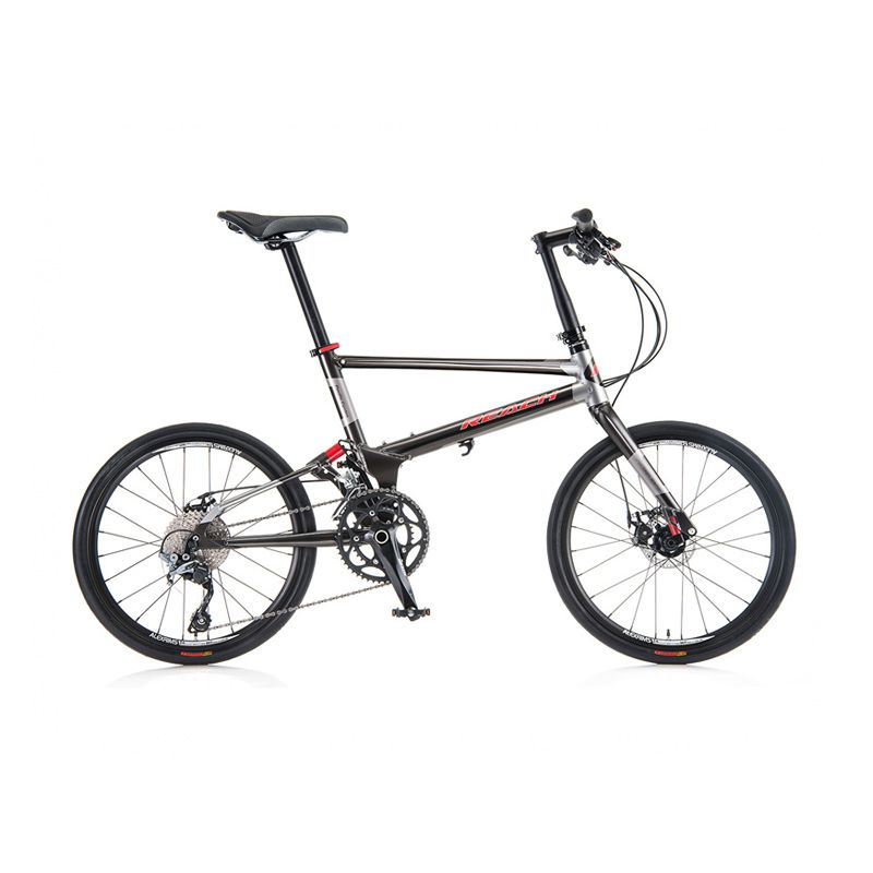 Delta Cycle Pacific Reach T20 Galaxy Grey Sepeda Trail