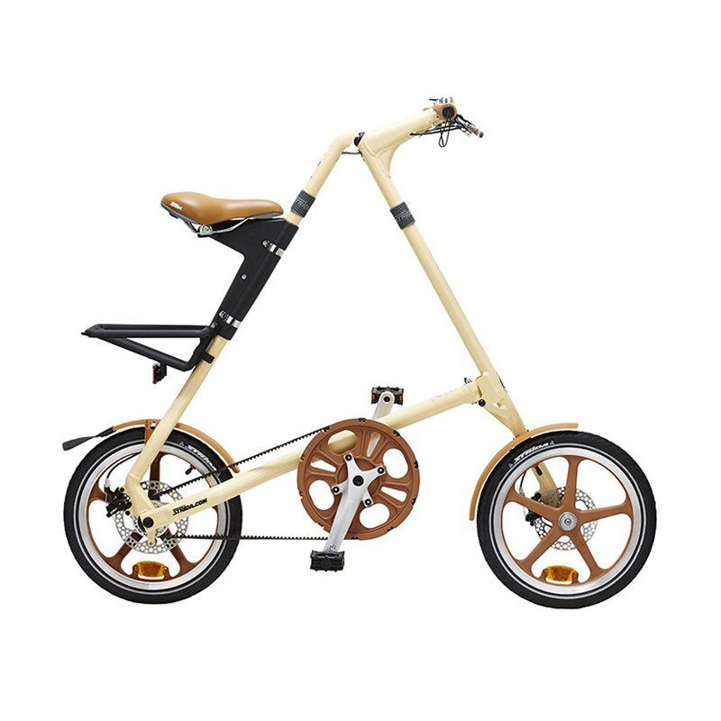 harga Delta Cycle Strida LT 16 Cream Sepeda [Single Speed] Blibli.com