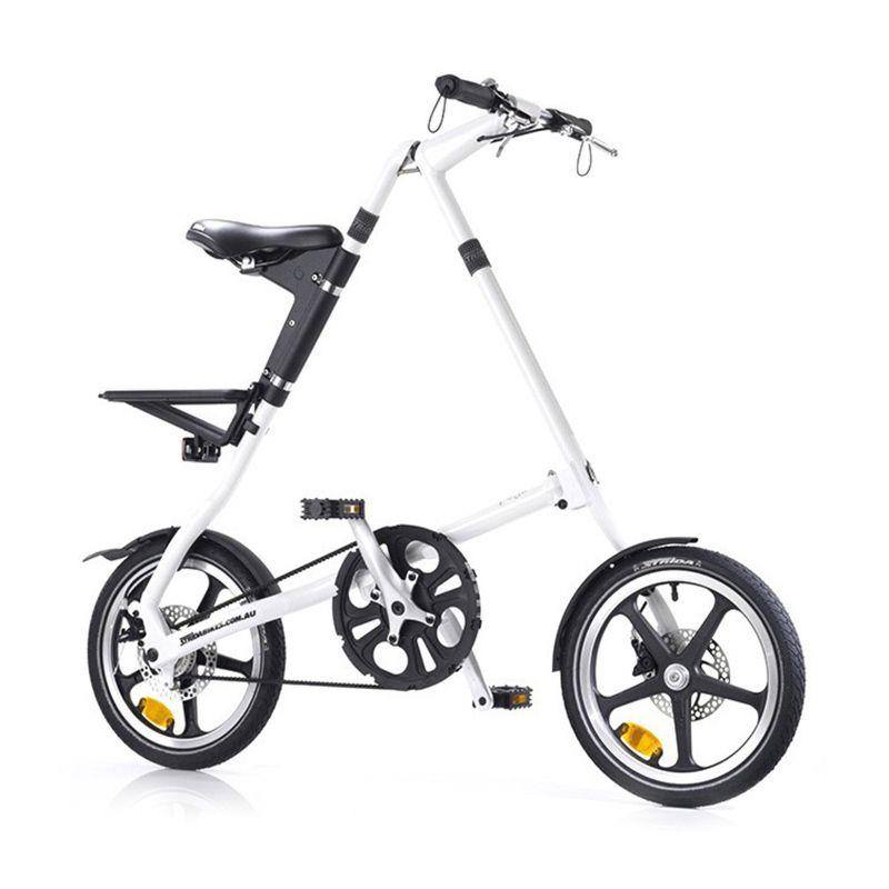 harga Delta Cycle Strida LT 16 White Sepeda [Single Speed] Blibli.com